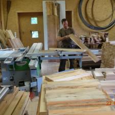 in der Holzwerkstatt!