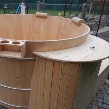 Holzwhirlpool Modell 2