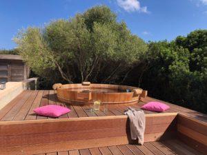 Balubad Badefass auf Mallorca!