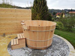 Badebottich Modell 2 in Lärchenholz